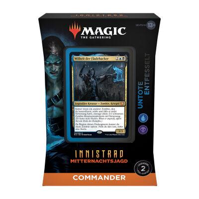 Magic: Innistrad Mitternachtsjagd Commander Deck: Untoten Entfesselt – DE