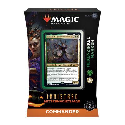 Magic: Innistrad Mitternachtsjagd Commander Deck: Hexenzirkel Marken – DE