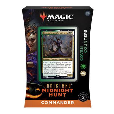 Magic: Innistrad Midnight Hunt Commander Deck: Coven Counters – EN