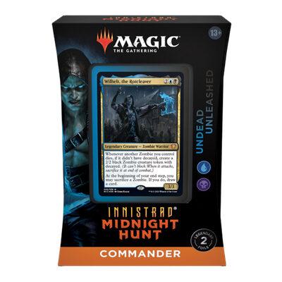 Magic: Innistrad Midnight Hunt Commander Deck: Undead Unleashed – EN