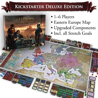 "Europa Universalis ""Kickstarter Deluxe Edition"" – EN"