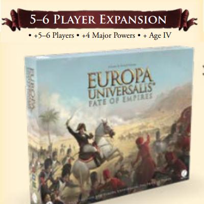 Europa Universalis: 5-6 Player Expansion – EN