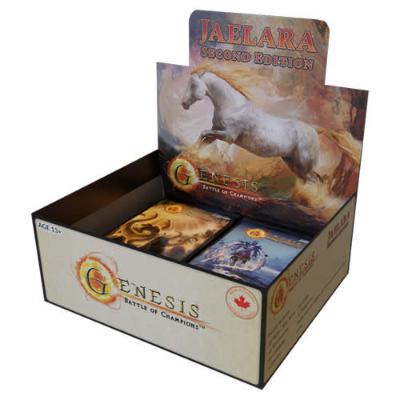 Genesis TCG: Battle of Champions – Jaelara Second Edition Display Box – EN