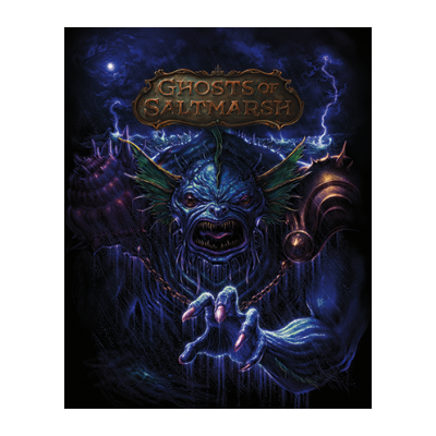 D&D: Ghosts of Saltmarsh – limited alternate Cover (HC) – EN